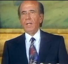 Carlos Andres Perez Presidente de Venezuela (1974-1979 y 1989-1993)