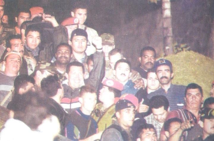 Regreso de Chavez el 13 de Abril de 2002