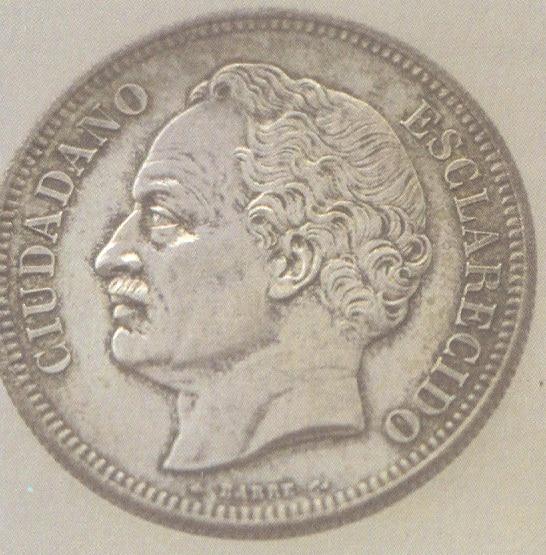 Moneda con la Cara de Paez