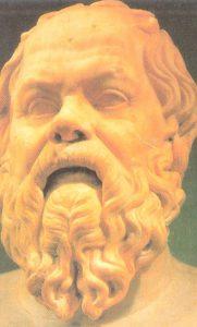Escultura de Socrates