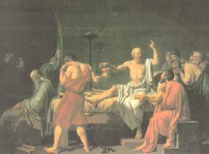 Cuadro La Muerte de Socrates, obra de Jacobo David