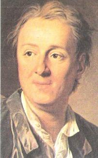 Retrato de Denis Diderot