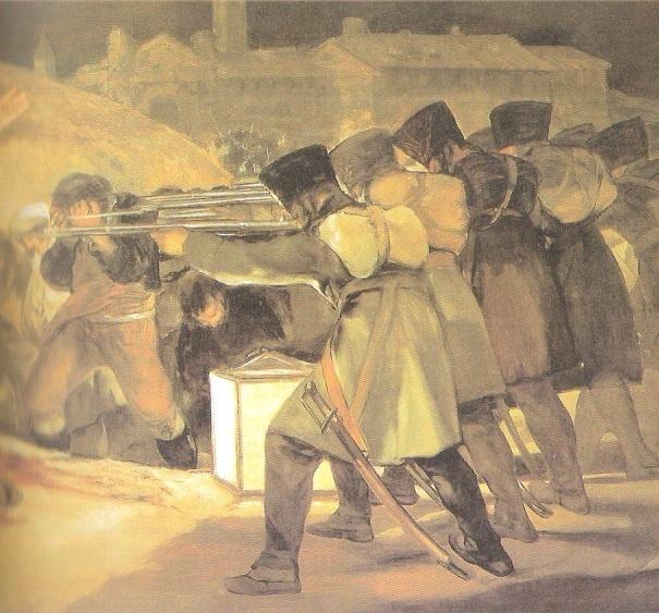 Los fusilamientos del · de Mayo