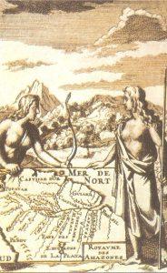 Francisco de Orellana en el Amazonas