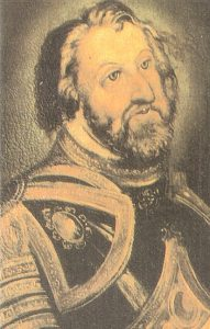 Retrato de Hernán Cortes