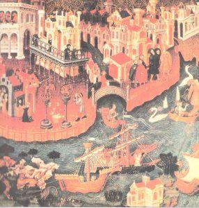 Salida de una expedición desde Venecia