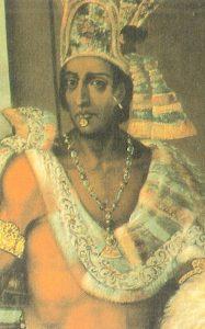 Moctezuma II Retrato