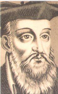 Retrato de Nostradamus