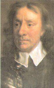 Retrato de Oliver Cromwell
