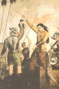 Inés de Suarez, la amante de Valdivia