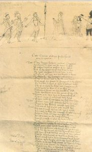 Pagina de Manuscrito de Shakespeare