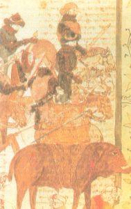 Anibal sobre un Elefante, pintura del Siglo III a.C