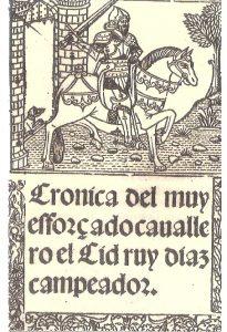 Miniatura El Cid Campeador