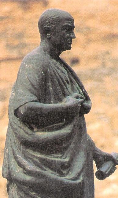 Estatua de Lucio Anneo Seneca