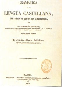 La Gramatica de la Lengua Castellana