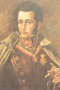 Retrato de Antonio José de Sucre