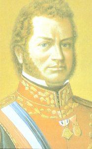 Retrato de Bernardo O´ Higgins