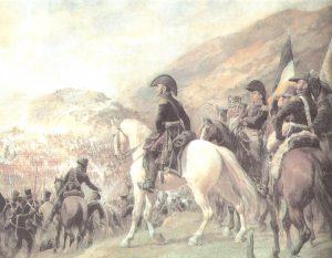 Cruce de la cordillera de los Andes por el Ejercito de San Martín