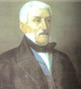Retrato de José de San Martín  ya Anciano