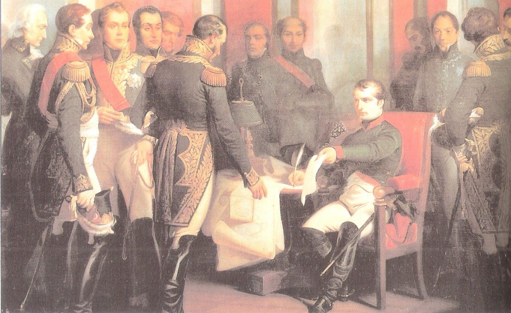 Abdicación de Napoleón en Fontainebleau