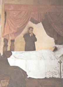 Muerte de la Esposa de Bolívar, por Tito Salas